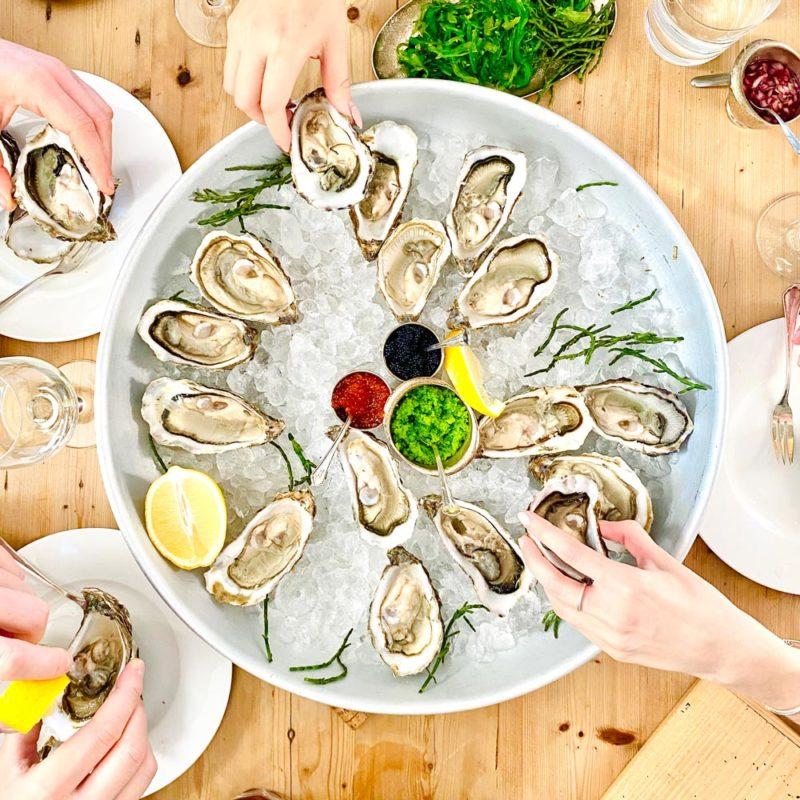 Verzehrempfehlung Austern Sylter Royal